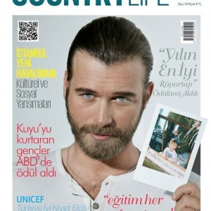 Kivanc Tatlitug Country Life Magazine Cover