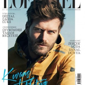 Kivanc Tatlitug L'Officiel Magazine Cover