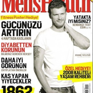 Kivanc Tatlitug Men's Health Magazine Cover