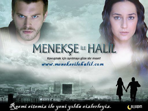 Menekse and Halil (Menekse ile Halil) Turkish Tv Series Poster