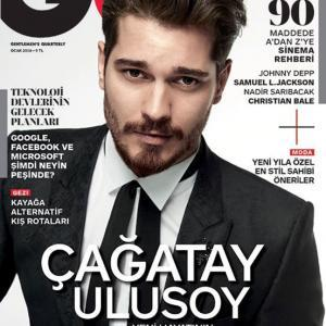 Cagatay Ulusoy GQ Magazine Cover