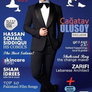Cagatay Ulusoy Issue Magazine Cover