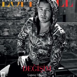 Cagatay Ulusoy L-Officiel Hommes Magazine Cover