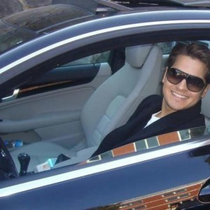 cagatay ulusoy in luxury car