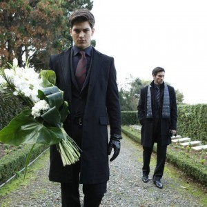 cagatay ulusoy with flowers