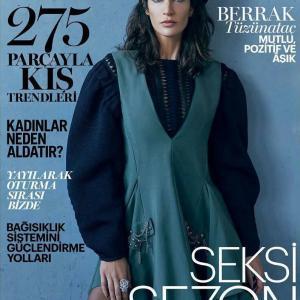 Berrak Tuzunatac - Marie Caire Magazine Cover