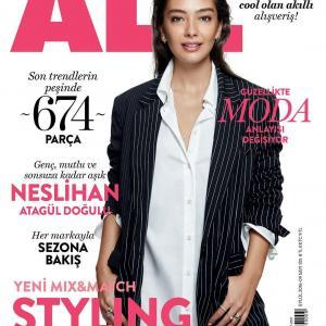 Neslihan Atagul - All Magazine Cover