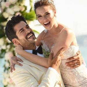 Burak Ozcivit is married with Fahriye Evcen