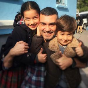 Caner Cindoruk and Woman tv series's children cast