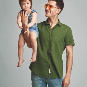 Uraz Kaygilaroglu and his daughter Ada Kaygilaroglu