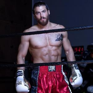 Can Yaman in ring for boxing