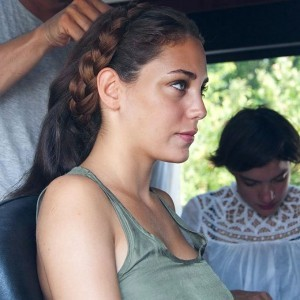 Oyku Karayel hair making