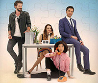 She Was Pretty - Love Me Or Not (Seviyor Sevmiyor Dizisi) Tv Series Poster