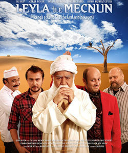 Leyla and Mecnun Turkish Tv Series Poster