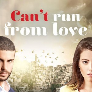 Can't Run From Love wide poster