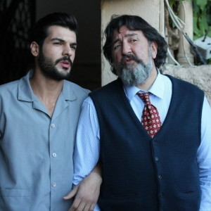 new bride - father and son