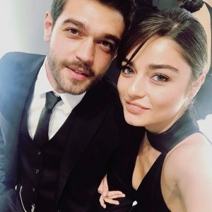 Ayca Aysin Turan and her actor friend