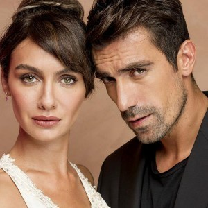 Ibrahim celikkol and Birce akalay