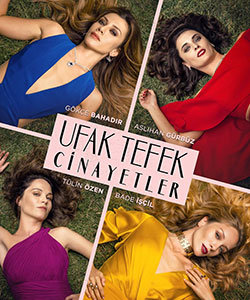 Stiletto Vendetta (Ufak Tefek Cinayetler) Turkish Tv Series Poster
