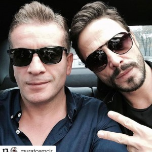 Ahmet Kural and Murat Cemcir Car Selfy