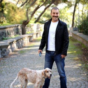 Hakan Yilmaz and His Dog