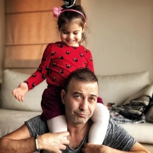 Hakan Yilmaz and pretty daughter