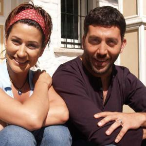 Iclal Aydin and Emre Kinay in Two Families (Iki Aile) Tv Series