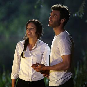 Baris and Asli in Atesbocegi Tv Series