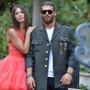 Pink Demet Ozdemir and Soldier Can Yaman