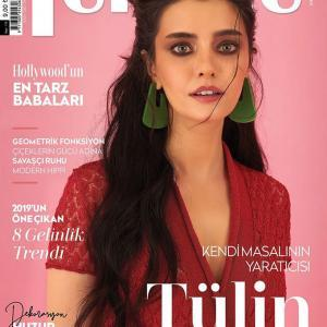 Female Magazine Cover - Tulin Yazkan